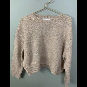 H&M Wool Blend Cropped Sweater Super Soft